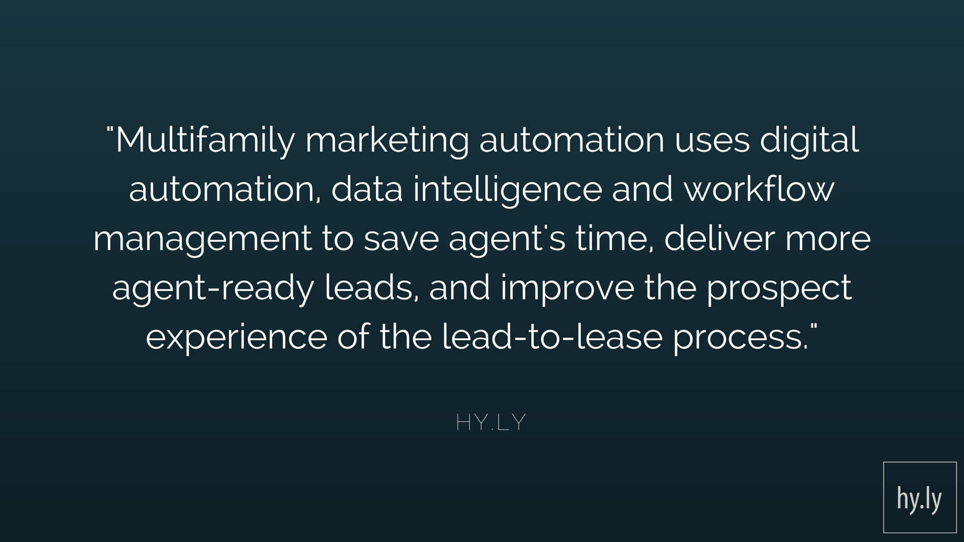 Marketing Automation - An Introduction For Multifamily