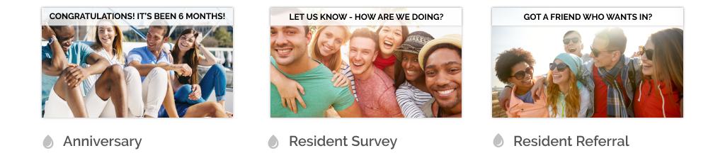 Resident Satisfaction Play Emails